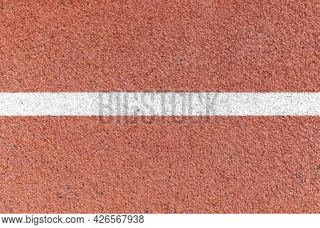 A Close Up Of White Lines Running Track Pattern And Background Seamless