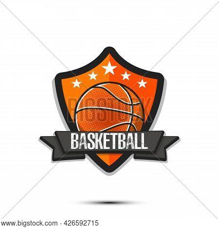 Basketball Logo Design Template