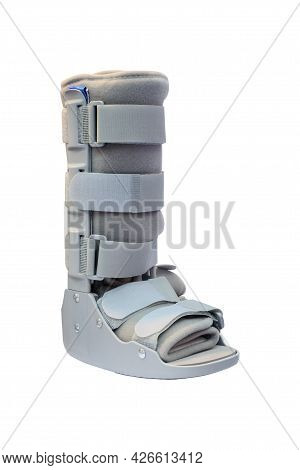 Soft Cast Right Ankle Boot For Adult, Soft Cast Legs And Ankle Cover Type That Designed For Patients
