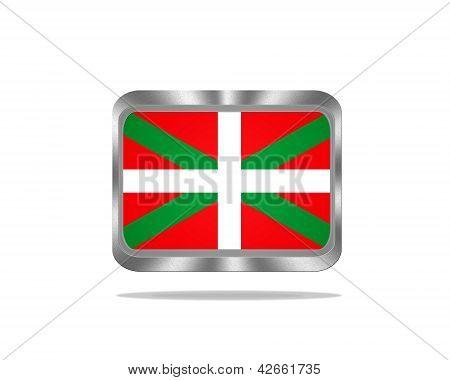 Metal Euskadi Flag.