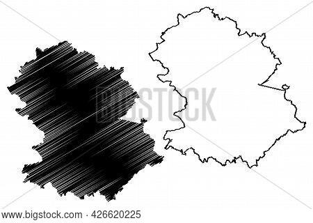 Hochtaunuskreis District (federal Republic Of Germany, Rural District Darmstadt Region, State Of Hes