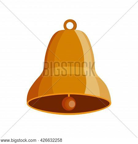 Bell Clipart. Bell Isolated Simple Vector Clipart