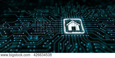 Smart Home Iot Internet Of Things Wireless Control Automation