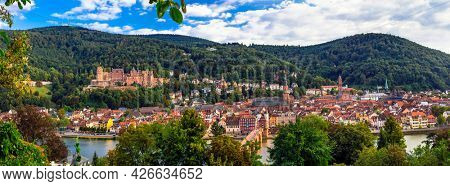 Best places and towns of Germany - beautiful historic Heidelberg