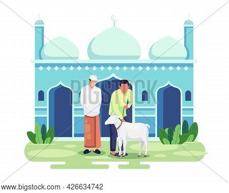 Eid Al-adha Qurban Celebration