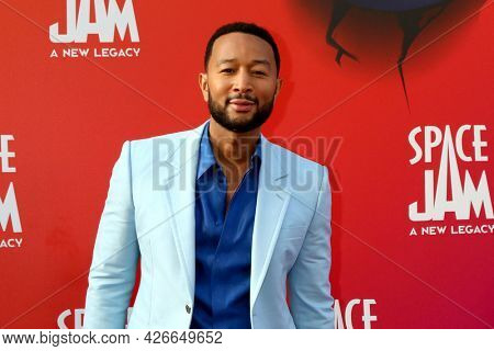 LOS ANGELES - JUL 12:  John Legend at the Space Jam:  A New Legacy Premiere at the Microsoft Theater on July 12, 2021 in Los Angeles, CA