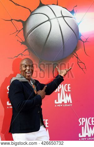 LOS ANGELES - JUL 12:  Terry Crews at the Space Jam:  A New Legacy Premiere at the Microsoft Theater on July 12, 2021 in Los Angeles, CA
