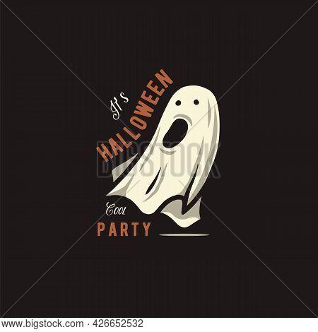 Halloween Spirit Or Ghost For Halloween Print