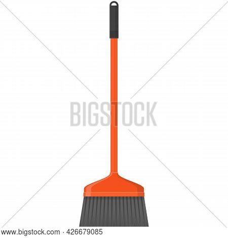 Vector Sweep Brush Illustration Cartoon On White