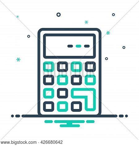 Mix Icon For Calculate Calculation Mathematics Add Solve