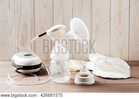 Breast Pump Set (without Milk)