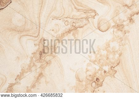 Beige Ceramic Tile, Stone Slab, Marble Wall Texture, Granite Surface, Abstract Brown Pattern, Grunge