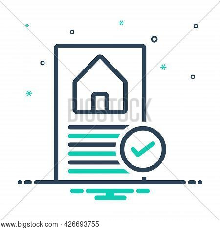 Mix Icon For Preapproved Check Box Approved Correct House Loan