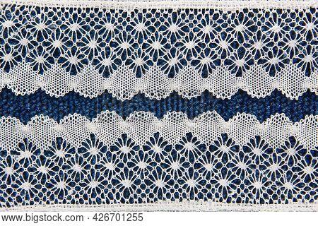 Traditional Textile Bobbin Detail Artisan Craftmanship Made In Camarinas. Spain