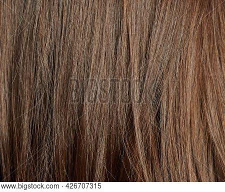 Clean Straight Hair Background