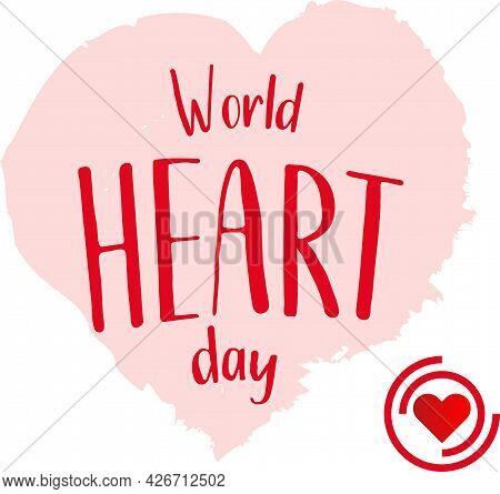 World Heart Day Concept. 29 September. Cardiovascular Diseases Treatment