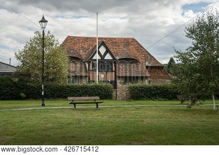Godstone, Surrey, Uk, August 2020 - The Endeavour, Home To 1st Godstone Scout Group, On Godstone Gre