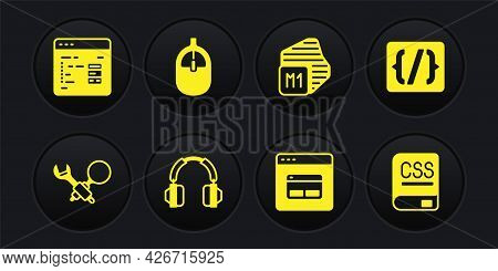 Set Debugging, Programming Language Syntax, Headphones, Search Engine, Processor, Computer Mouse, Bo