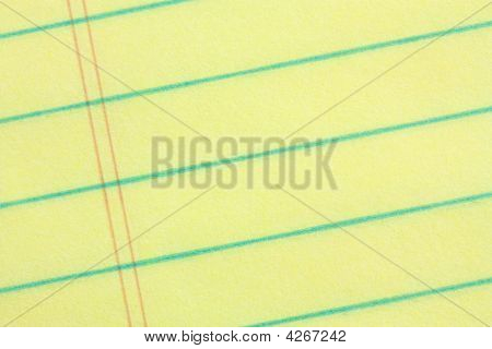 Legal Pad Of Paper