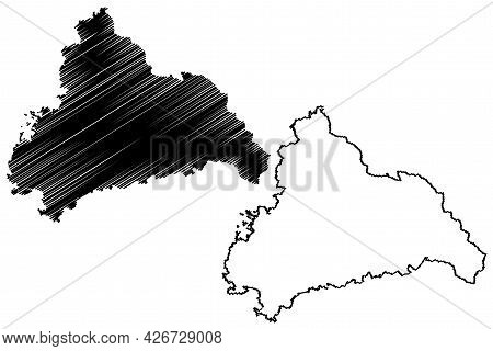 Cham District (federal Republic Of Germany, Rural District Upper Palatinate, Free State Of Bavaria)