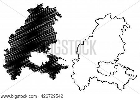 Kassel District (federal Republic Of Germany, Rural District Kassel Region, State Of Hessen, Hesse,