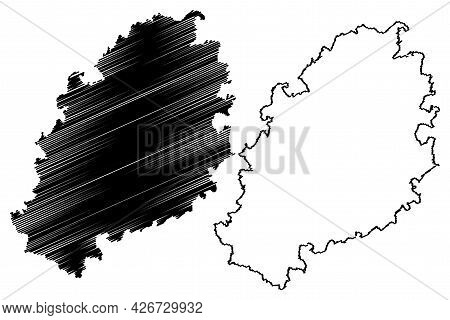 Kulmbach District (federal Republic Of Germany, Rural District Upper Bavaria, Free State Of Bavaria)