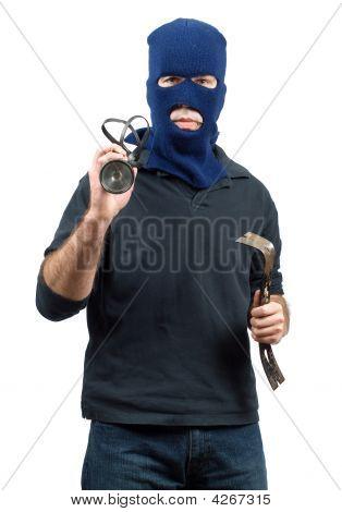 Isolated Burglar
