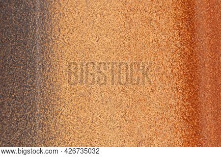 Rusty Metal Sheet Corrosion Texture Background Orange Color, Rusty Background