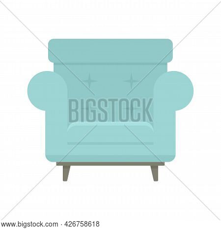 Armchair Icon. Flat Illustration Of Armchair Vector Icon Isolated On White Background