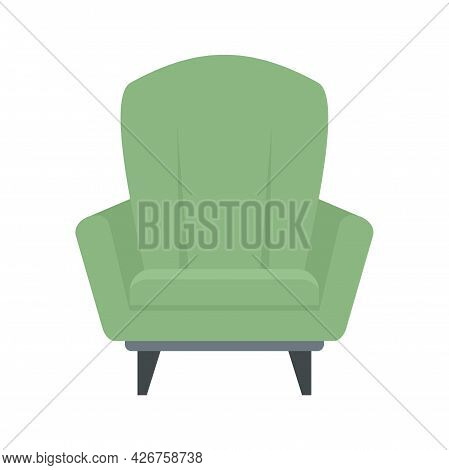 Relax Armchair Icon. Flat Illustration Of Relax Armchair Vector Icon Isolated On White Background