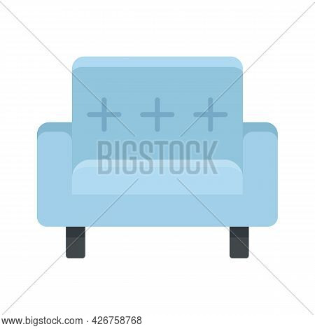 Seat Armchair Icon. Flat Illustration Of Seat Armchair Vector Icon Isolated On White Background