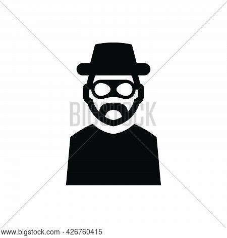 Robber Icon. Meticulously Designed Vector Eps File.
