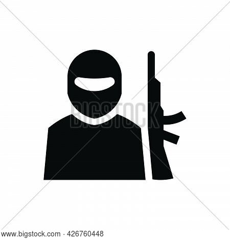 Terrorist Icon. Meticulously Designed Vector Eps File.