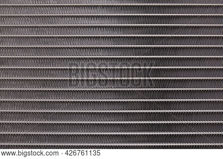 The Air Conditioning Coils Car Close Up Texture Image