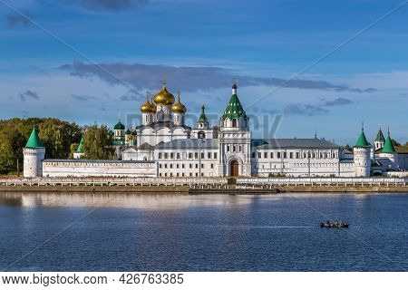 The Ipatiev Monastery Is A Male Monastery, Situated On The Bank Of The Kostroma River Just Opposite