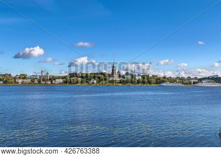 View Of Kostroma From Volga River, Russia