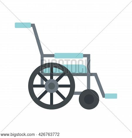 Mobility Wheelchair Icon. Flat Illustration Of Mobility Wheelchair Vector Icon Isolated On White Bac