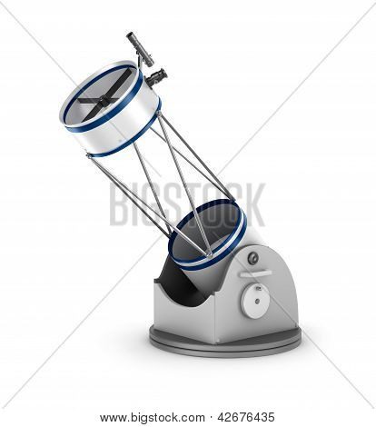 Dobson reflector telescope.