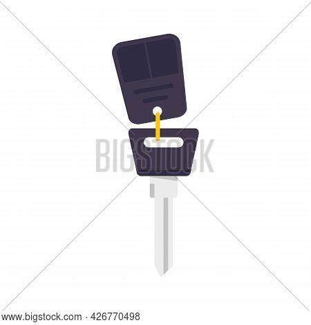 Car Alarm Icon. Flat Illustration Of Car Alarm Vector Icon Isolated On White Background