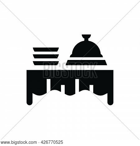 Buffet Food Icon. Meticulously Designed Vector Eps File.
