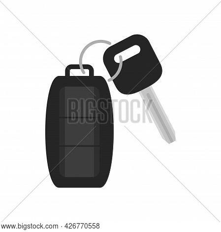 Auto Alarm Icon. Flat Illustration Of Auto Alarm Vector Icon Isolated On White Background