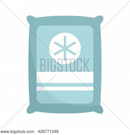 Medical Sterile Package Icon. Flat Illustration Of Medical Sterile Package Vector Icon Isolated On W