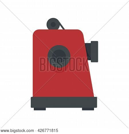 Film Projector Icon. Flat Illustration Of Film Projector Vector Icon Isolated On White Background