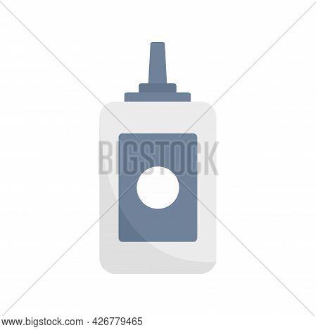 Beauty Salon Bottle Icon. Flat Illustration Of Beauty Salon Bottle Vector Icon Isolated On White Bac