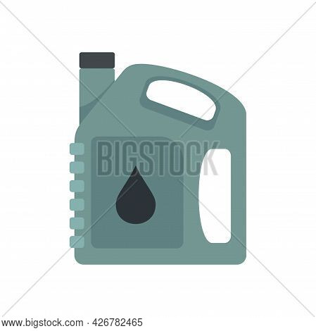 Auto Motor Oil Icon. Flat Illustration Of Auto Motor Oil Vector Icon Isolated On White Background