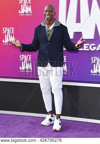 LOS ANGELES - JUL 12: Terry Crews arrives for the 'Space Jam: A New Legacy' World Premiere on July 12, 2021 in Los Angeles, CA