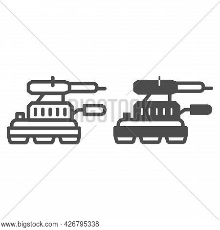 Grinding Machine Line And Solid Icon, Construction Tools Concept, Angle Grinder Vector Sign On White