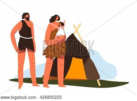 Prehistoric Life And Culture, Family By House