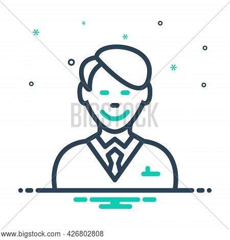 Mix Icon For Happy-client Client Customer Subscriber Clientele Underwriter Purchaser Accountant Chee