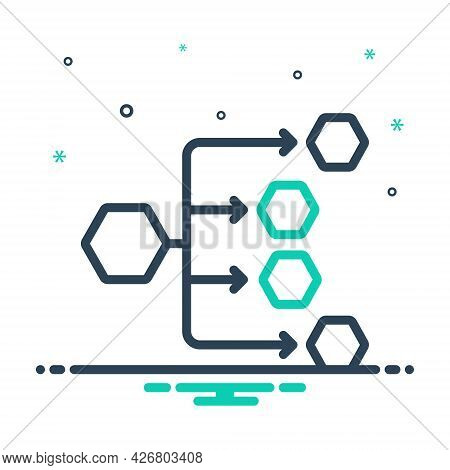 Mix Icon For Distribution-channels Distribution Channels Connections Preferred Internet Affiliate Hi
